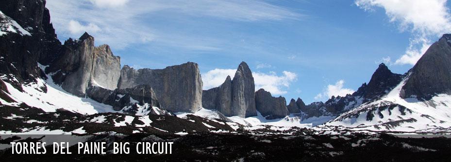Circuito O Torres Del Paine : Circuito torres del paine